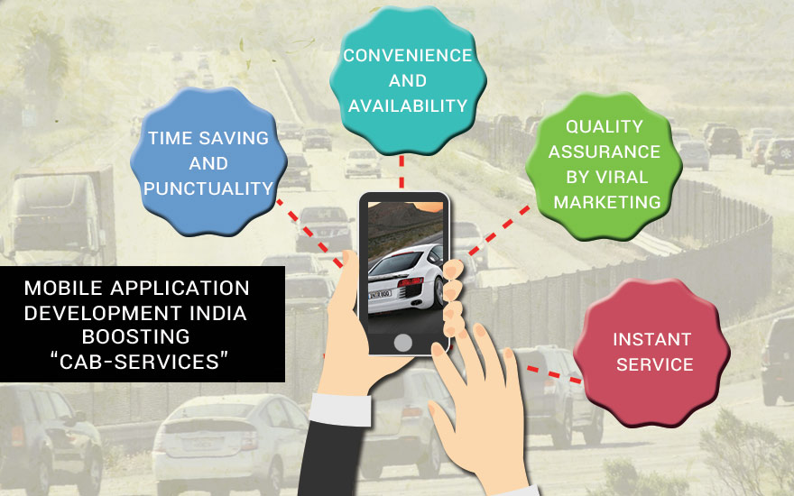 Mobile App development India boosting Cab-Services