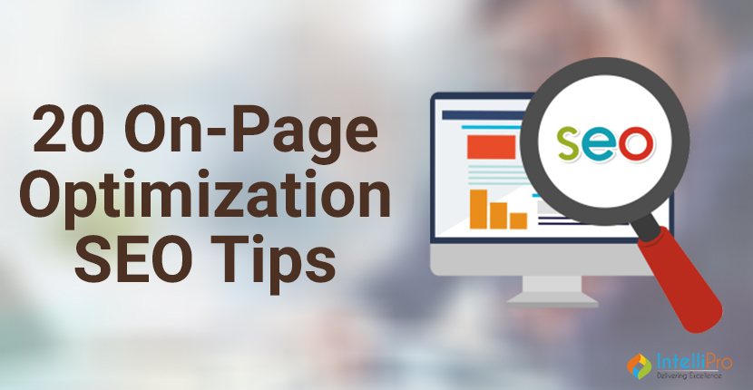 20 On-Page Optimization SEO Tips